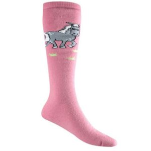 Fun Pony Pink Kids Socks